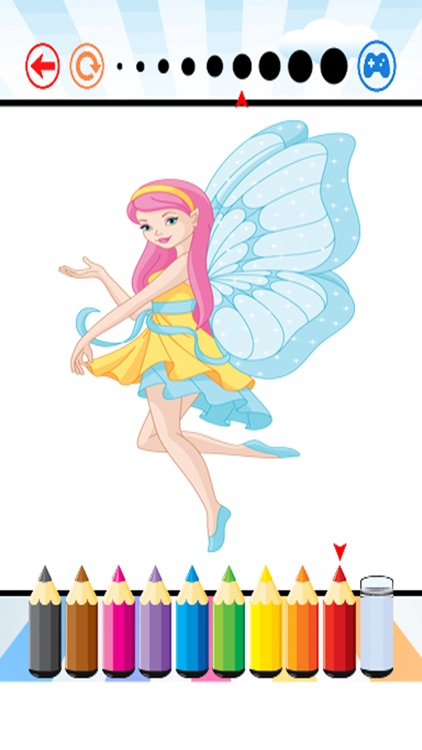 Fairy Art Coloring Book - for Kids