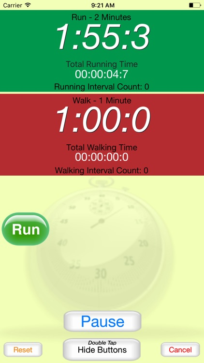 Running Interval Timer screenshot-2