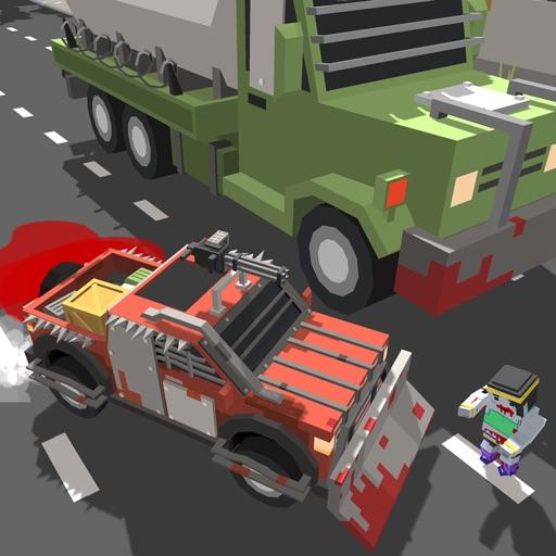 Zombie Traffic Racer. Real Hero Highway Road Rider