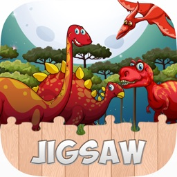 Dinosaur Jigsaw Puzzle Games For Preschool Toddler