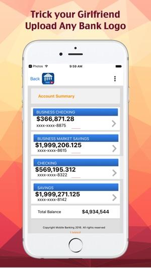 Bank Balance App Iphone