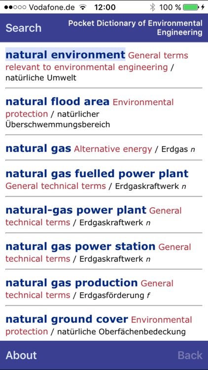 Dictionary of Environmental Engineering