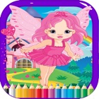 Princess Art Coloring Book - for Kids icon