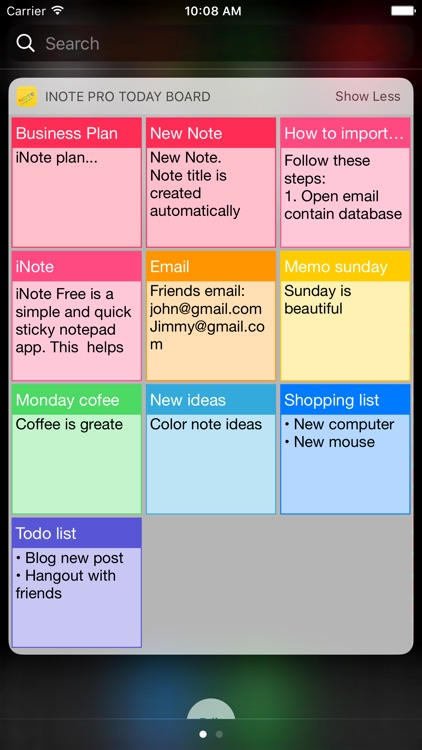 iNote Pro - Sticky Note by Color