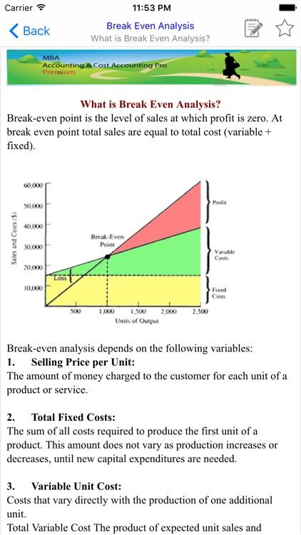 MBA Accounting & Cost Accounting screenshot-3