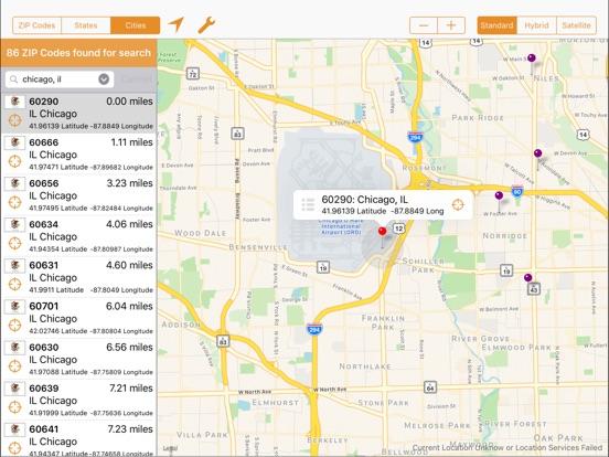ZIP Finder Professional (USA) | App Price Drops