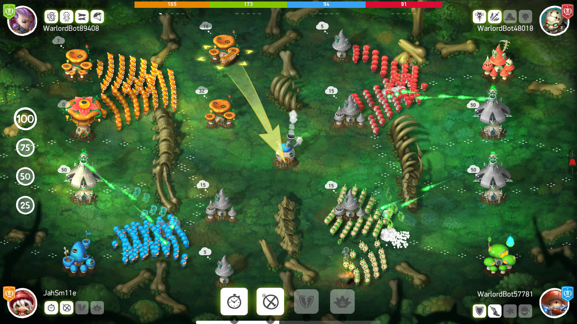 Mushroom Wars 2 - RTS meets TD screenshot 12
