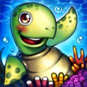 Aquarium Island: Build kingdoms of happy ocean life animal icon