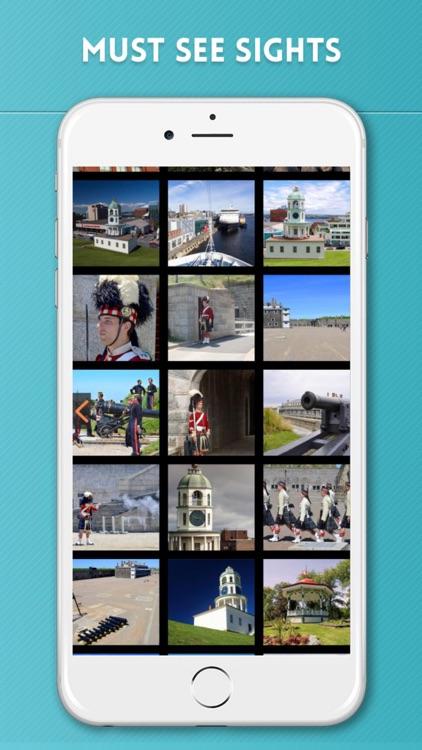 Halifax Travel Guide with Offline City Street Map screenshot-3