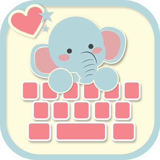 Cute Keyboard for Girls - Pink backgrounds & fonts