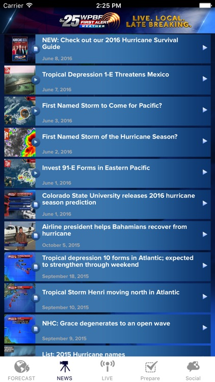 WPBF 25 Hurricane Tracker screenshot-4