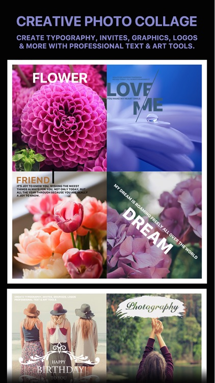 Message Card - Add Stickers, Filters & Text screenshot-3