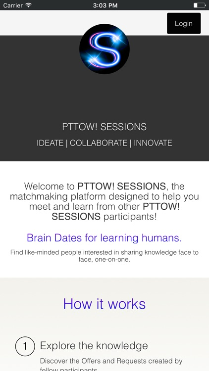 PTTOW! SESSIONS by E-180, inc