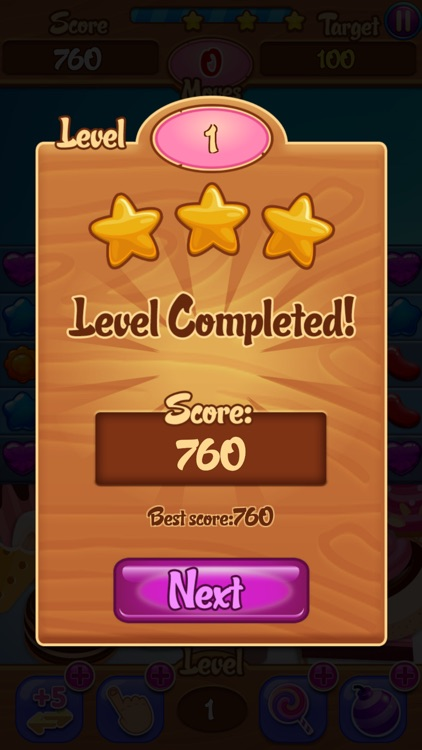 Candy Garden New Sweet Jelly Land : DELUXE - NEW screenshot-4
