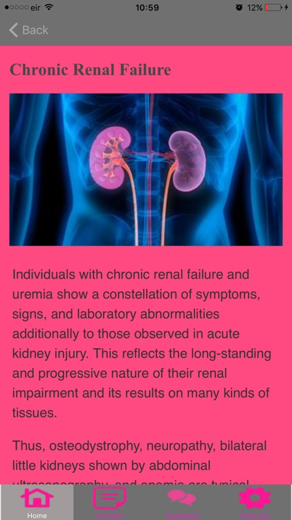 Symptoms Of Renal Failure