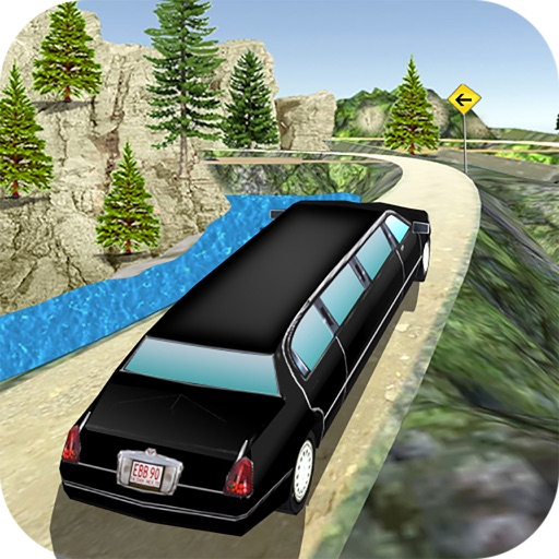 Off-Road Limousine Simulation : Crazy ride on hill