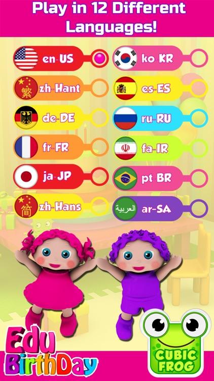 Best Preschool App-EduBirthday screenshot-4