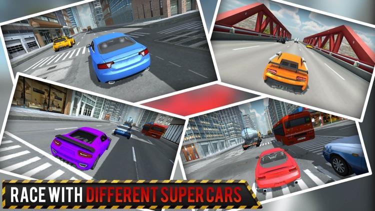 City Traffic Car Racing - Fast 3D Driving screenshot-4