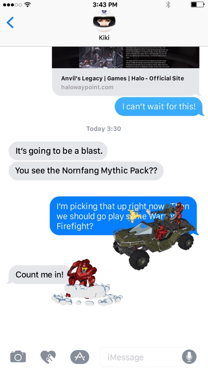 Halo Stickers screenshot-4