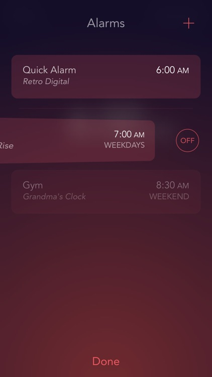 Rise Alarm Clock screenshot-2