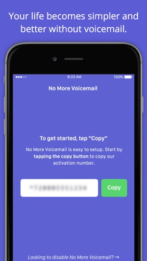 No More Voicemail on the App Store