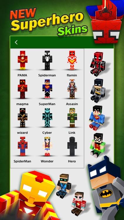SuperHero Skins Pro - Minecraft Pocket Edition