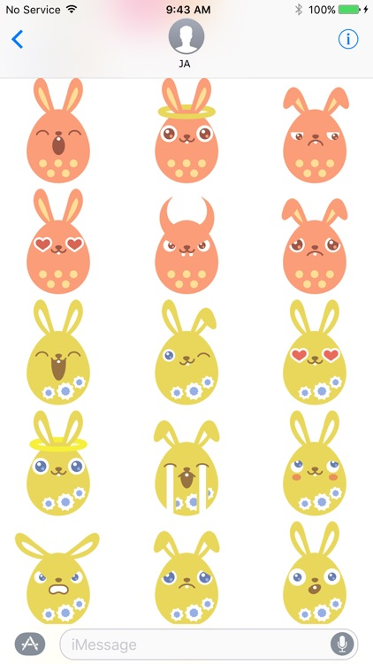Rabbit Sticker screenshot-4