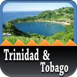 Trinidad & Tobago Offline Map Travel Guide