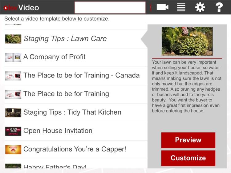 kwVideo for iPad