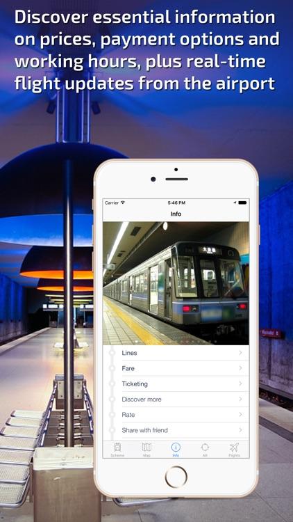 Nagoya Metro Guide and Route Planner screenshot-4