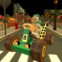 Super kart City Driving & Parking Game