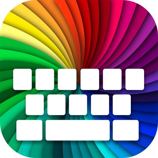 Colored Keyboard Maker – Colorful Backgrounds and New Emojis in Custom Keyboard Theme Free