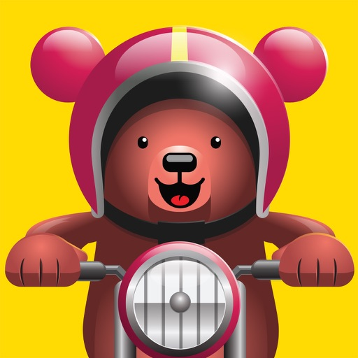 Excite Bear - Animal Bikers