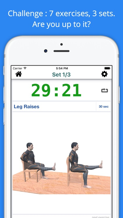 11 min Knee Pain Relief Workout Challenge PRO screenshot-1