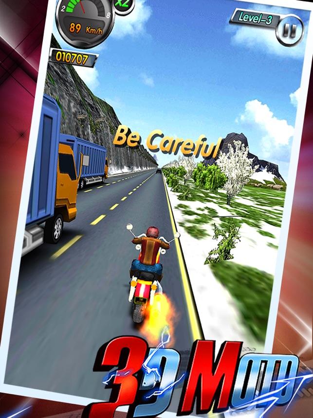AE 3D Motor: Moto Bike Racing,Road Rage to Car Run on the