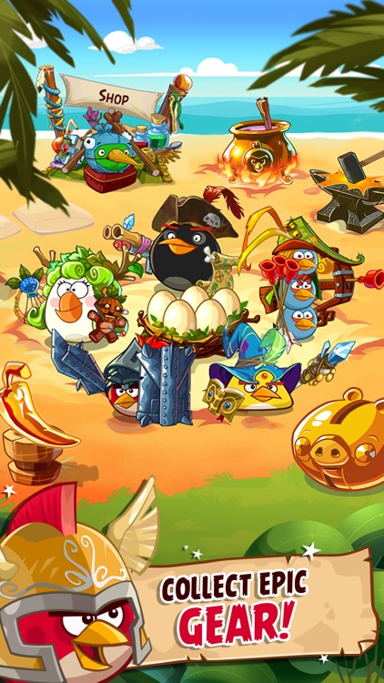 Angry Birds Epic RPG screenshot-0
