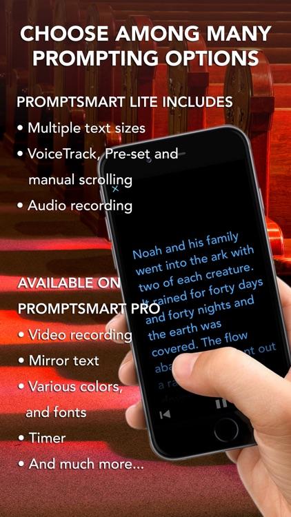 PromptSmart Lite - The Smartest Teleprompter (ENG)