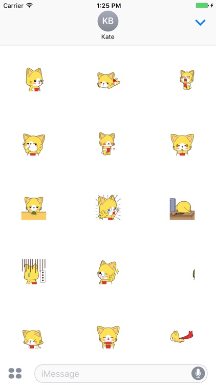 Nat Cat animated stickers - 70++ icons screenshot-3
