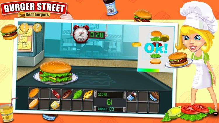 Burger Street - Cooking game