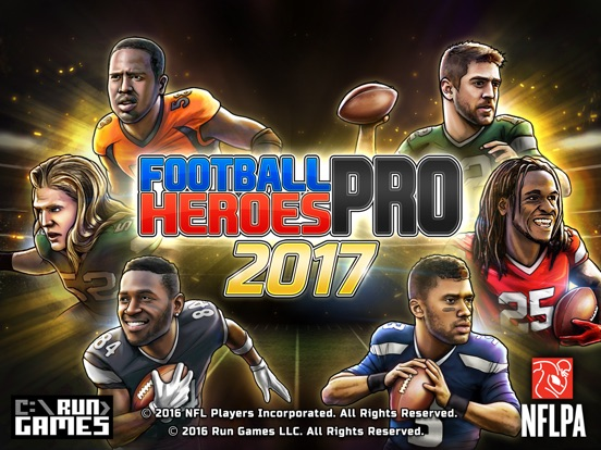 Football Heroes PRO 2017 - featuring NFL Players-ipad-4