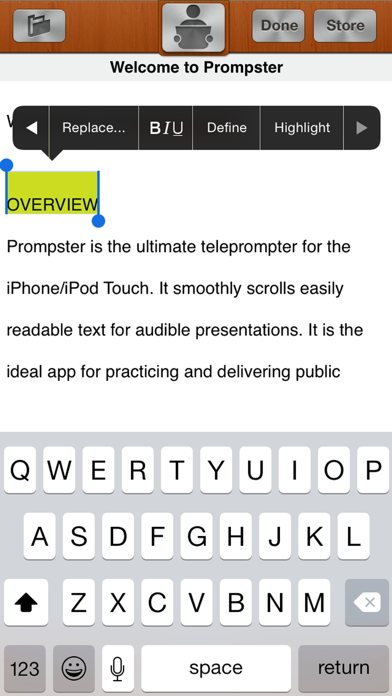 Prompster Pro review screenshots
