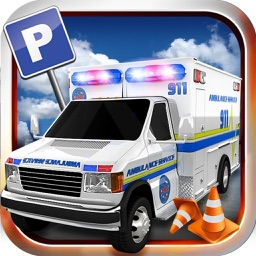 Hospital Ambulance Emergency Rescue: Parking Mania
