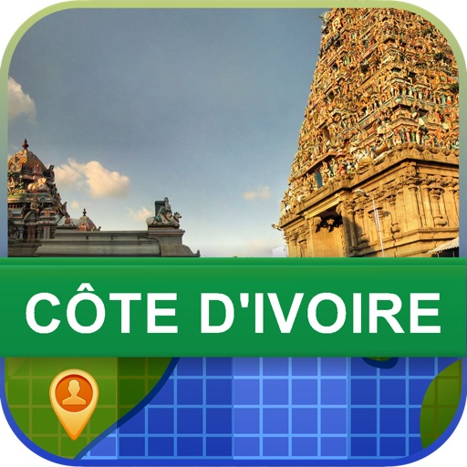 Offline Cote dIvoire Map - World Offline Maps