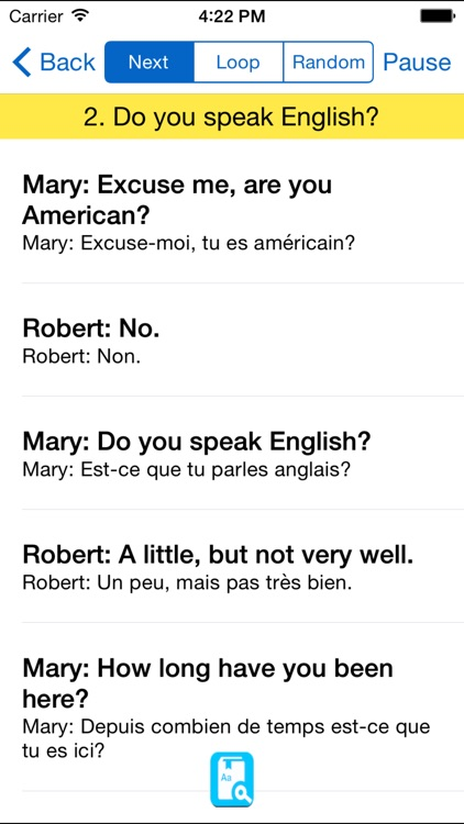 English Study for French - Apprendre l'anglais screenshot-4