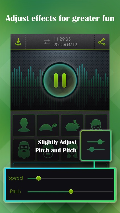 Voice Changer, Sound Recorder screenshot-1
