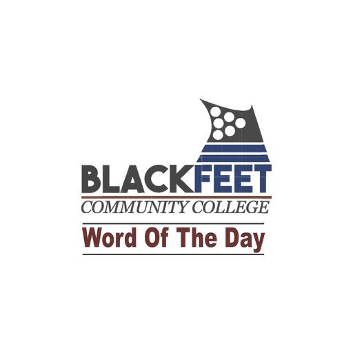 Blackfeet Word of the Day