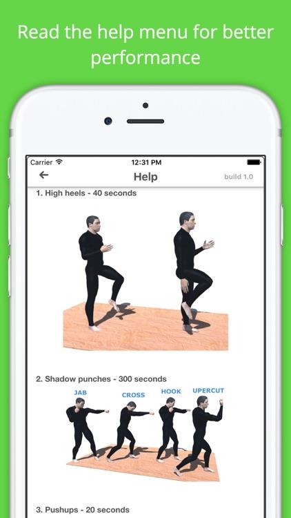 Boxing Challenge Workout PRO screenshot-4