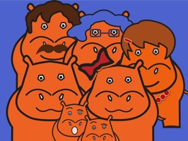 Jack and His Hippo Family is a cute set of stickers