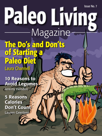 Screenshot of Paleo Living Magazine - Recipes & Meal Plans