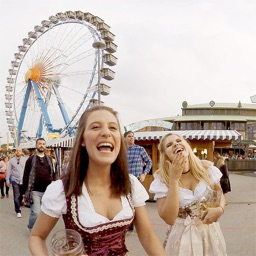 VR Oktoberfest Girls Have Fun Virtual Reality 360